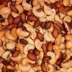Whole Mixed Nuts No Peanuts